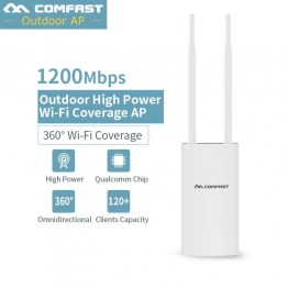 Comfast EW72 1200Mbps Outdoor WIFI Router Repeater 2.4G 300Mbps + 5Ghz Long Range Outdoor AP Router CPE AP Bridge Client Router