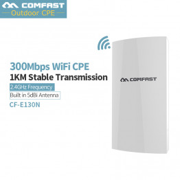 1Km Long Range Wireless Outdoor CPE WIFI Router 2.4Ghz 300Mbps WIFI Repeater Extender Outdoor AP Router AP Bridge Client Router