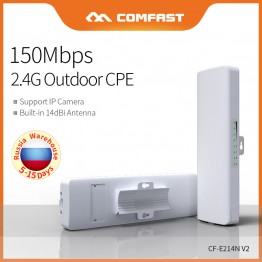 COMFAST CF-E214N Wireles outdoor CPE long Distance access point Antenna wi fi router 150Mbps waterproof repetidor wifi bridge
