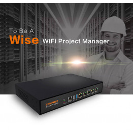 2019 Comfast Full Gigabit AC Authentication Gateway Routing MT7621 CF-AC100 880Mhz Core Gateway wifi project manage Routers