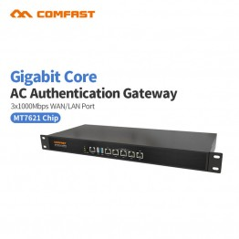 Comfast CF-AC200 Full Gigabit AC Authentication Core Gateway Routing Multi-WAN access wireless roaming wifi project router