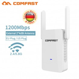 Wifi Router CF-WR753AC  Access Point Mode Repeater WiFi 1200Mbps Dual Band 2.4/5G Wireless transmission Router External antenna