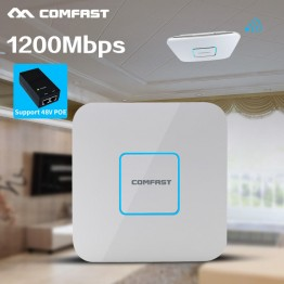 COMFAST CF-E355AC-V2 Dual Band 2.4+5GHz wireless Ceiling AP 1200M Wifi Access Point AC routers extender Signal Booster Amplifier