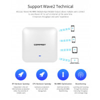 COMFAST CF-E385AC Gigabit wireless Ap 2200Mbps Ceiling AP 802.11ac wifi router Indoor AP for big area Powerful wifi Access Point
